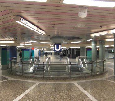 la metropolitana di francoforte