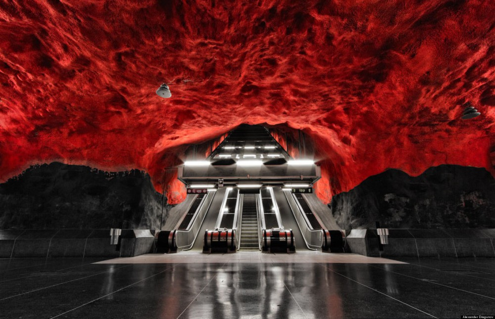 metro-rossa-STOCCOLMA