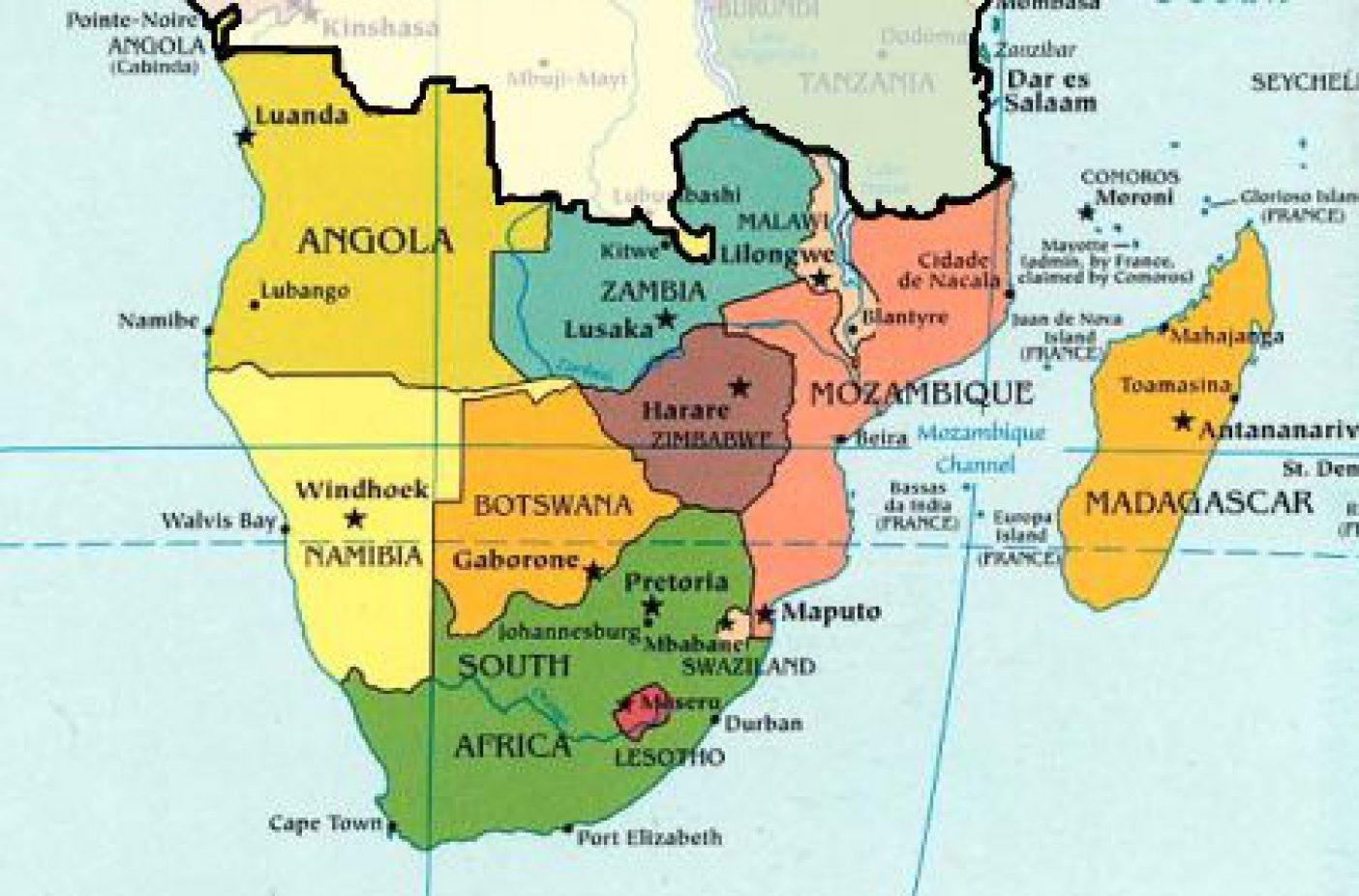Cartina Africa Sud.Viaggi Di Nozze In Africa Australe Viaggiamente