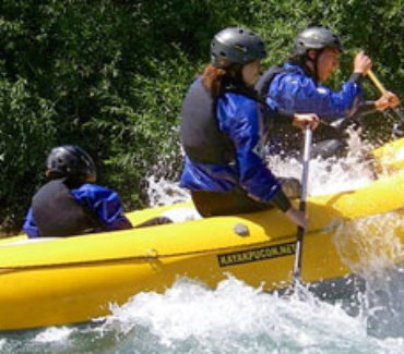 rafting ovest canadese